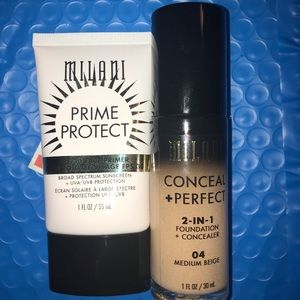 BRAND NEW milani foundation and primer